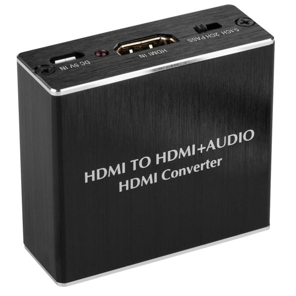 4K x 2K HDMI Audio Extractor Optical Converter